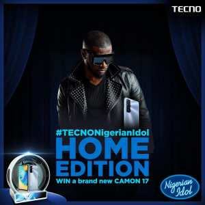 Tecno Mobile and Peter of Psquare Smartphones Giveaway.