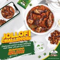 Win N20,000 in Dangote Seasoning Jollof Challenge.