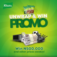 Win N500k and Other Prizes in Knorr Unwrap & Win Promo 2021.