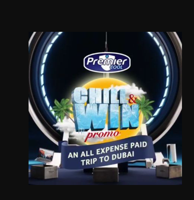 Win an all expense paid trip to Dubai in Premier Cool CHILL AND WIN PROMO