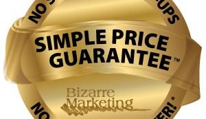 Simple Price Guarantee No Screens No Set Ups No Art Charges EVER