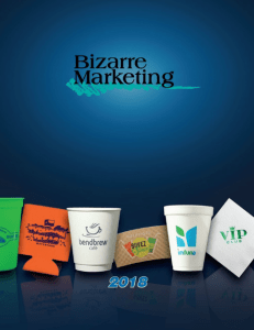 Food and Beverage Promotional Products