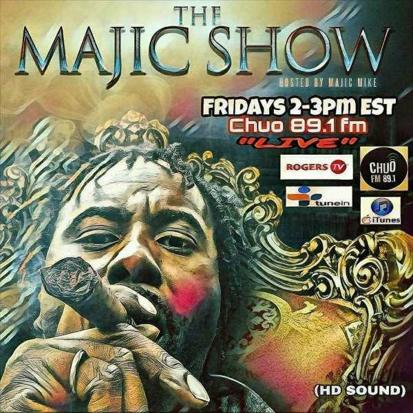 Throwback Kali Ranks interview by Majic Mike on CHUO-FM