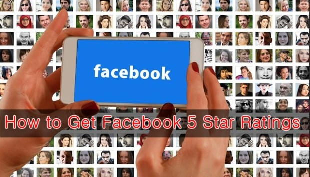 get facebook 5 star ratings