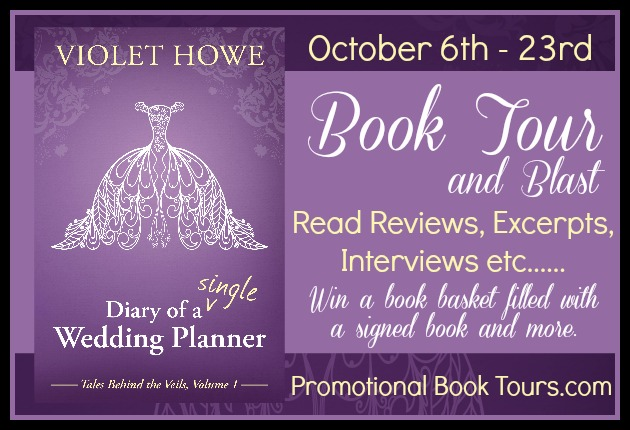 diary of a single wedding planner tour banner