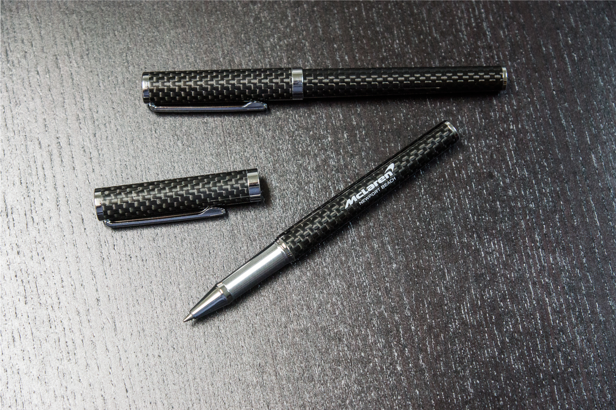 Newport Beach Laborghini McLaren Custom Carbon Fiber Ball Point Pens