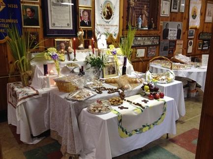 ST JOSEPH TABLE - Promotion Center for Little Italy, Baltimore