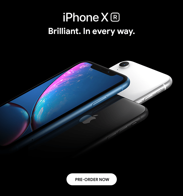 Axiom Telecom The Brilliant Apple iPhone XR is here | PreOrder Now
