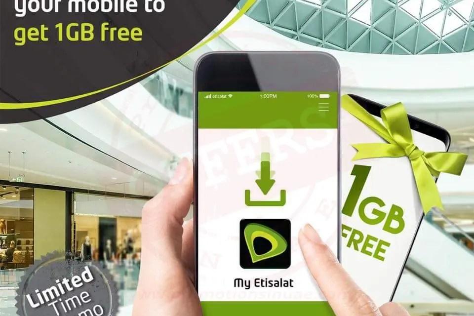 Redeem your FREE 1 GB of data - Promotionsinuae