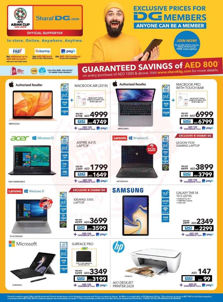 Sharaf DG Guaranteed Savings Offer - Promotionsinuae