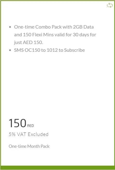 Etisalat New Data COMBO PACKS AED: 35 - Promotionsinuae