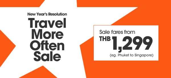 Promotion Jetstar 2013 New Year's Resolution Travel More ...