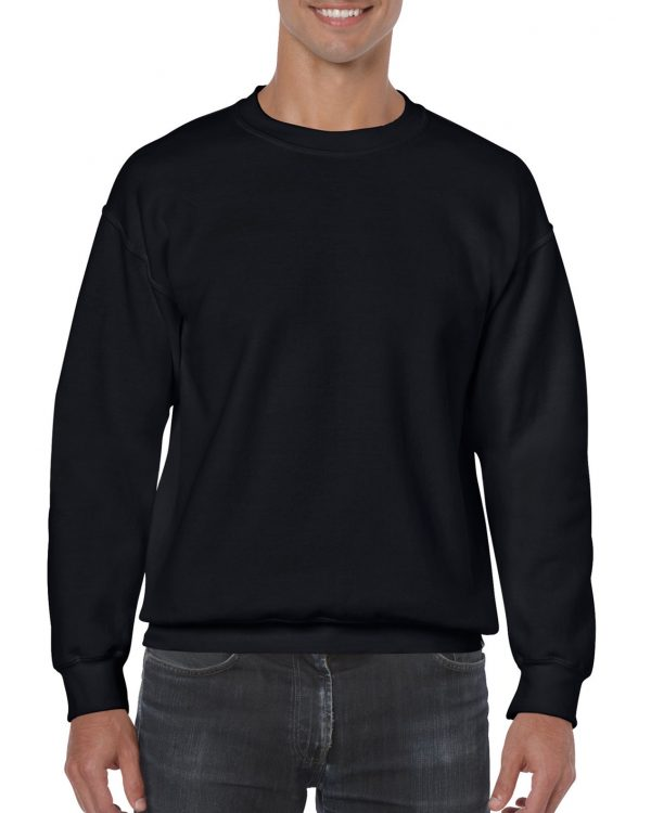 Gildan Heavy Blend Adult Crewneck Sweatshirt Black Xlarge (18000) 1 | | Promotion Wear