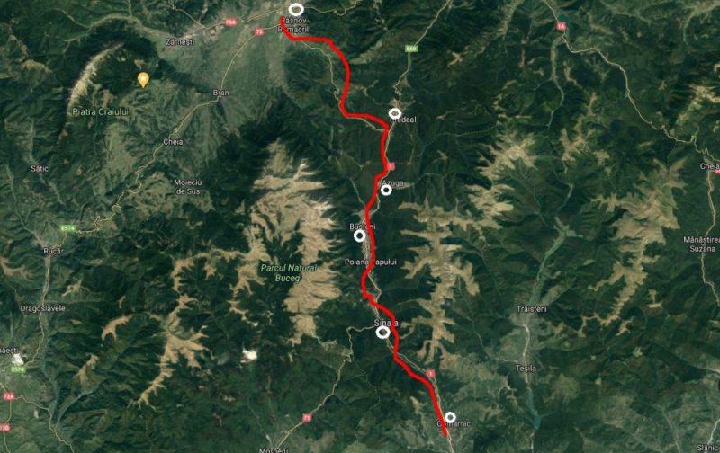 autostrada a3 bușteni tunel