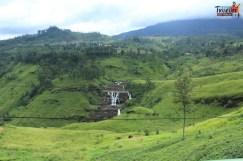 Sri Lanka tour itinerary - Falls near Nuwara Eliya, on Route to Galle