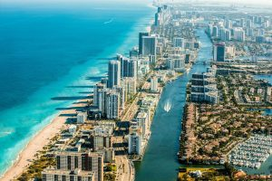 Miami panorama - a great place for families with kids