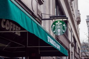 A Starbucks  - Top places for millennials in Florida