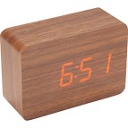 Wooden Display Clock