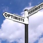 Optimists and Pessimists signpost