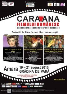 Caravana revine la Amara web