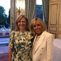 Corina Cretu – Brigitte Macron