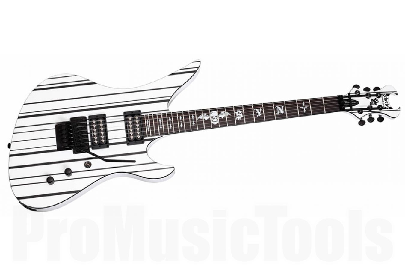 Schecter Synyster Gates Custom Synwhtblk