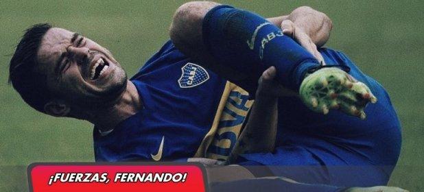 Fernando Gago se rompió el tendón de Aquiles... ¡por tercera vez!