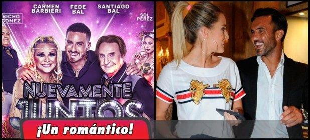 El gran gesto de Fabián Cubero el día del debut de Mica Viciconte en Nuevamente Juntos: