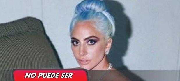Lady Gaga se sacó una foto con su premio y ¿con un mate?
