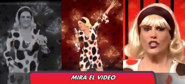 El desopilante videoclip de la cortina musical que creó Valeria Lynch para