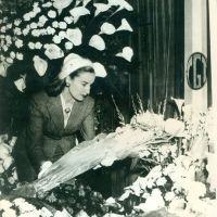 """El día que """"La Chiqui"""" le dejó flores a Evita"""