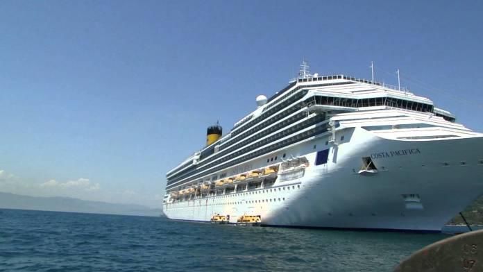 Navio Costa Pacífica - um dos navios da próxima temporada de cruzeiros