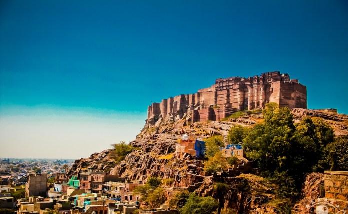 Forte Mehrangarh Jodhpur na India