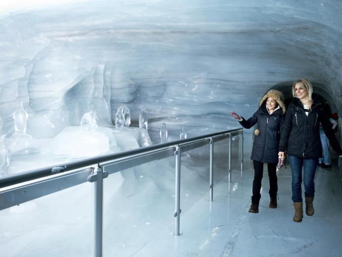 Jungfraujoch – Ice Palace - Foto: Zurich Tourism
