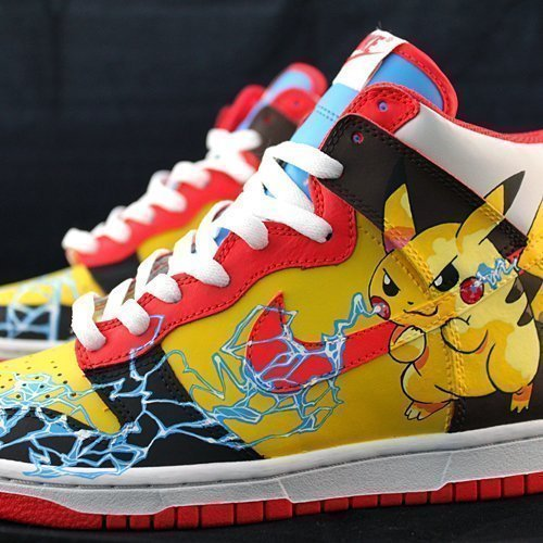 Custom Sneakers – Pokemon Pikachu
