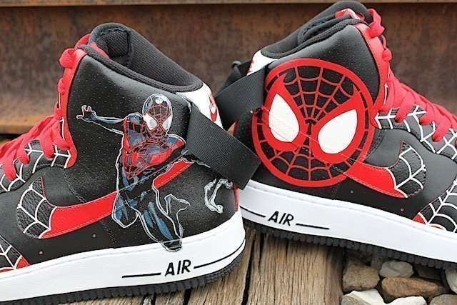 Spiderman Custom Nike Air Force 1