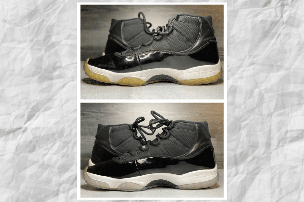 Sneaker Icing (un-yellowing)