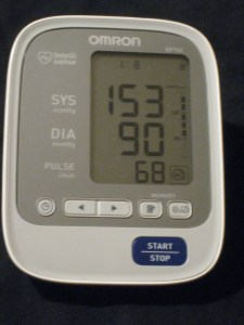 blood pressure day 8