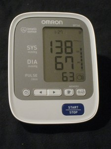 blood pressure day 27