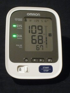 blood pressure day 29