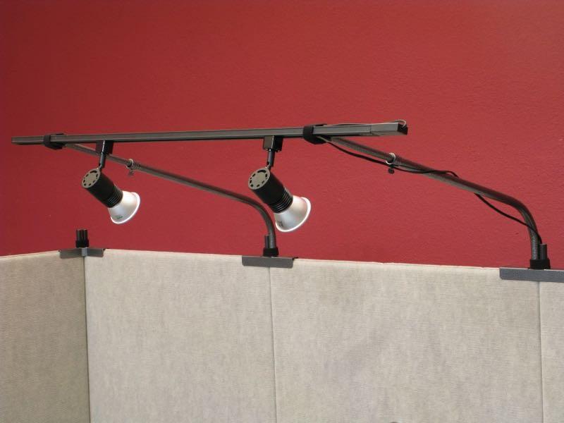 track lighting setup 10 wall 2 bulb