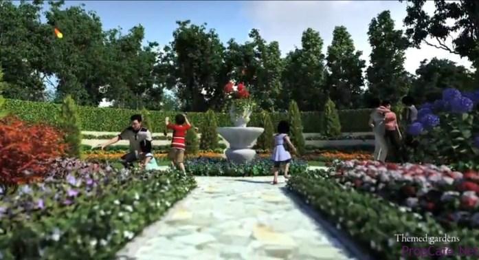3a Themed Gardens
