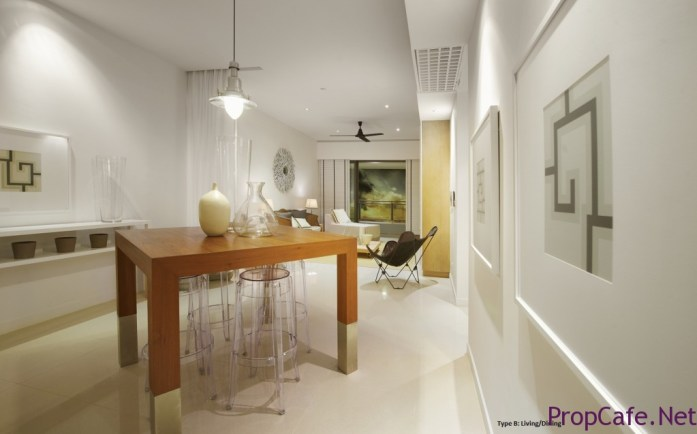 G Res - Type B Living Dining1