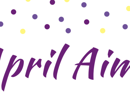 April Goal Setting Printable Banner
