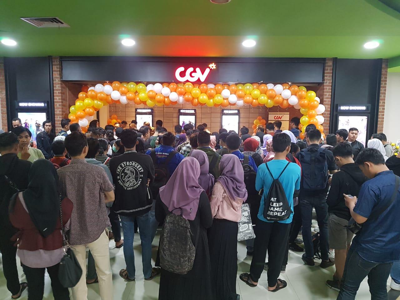 CGV Plaza Mulia Samarinda Buka Perdana, Pengunjung Membludak