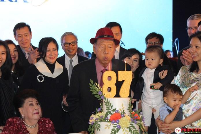 hut 87 tahun ir ciputra atau Tjie Tjin Hoan