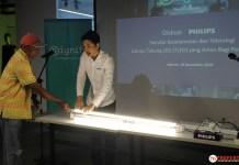 lampu tabung led ujung tunggal