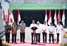 terowongan terpanjang indonesia