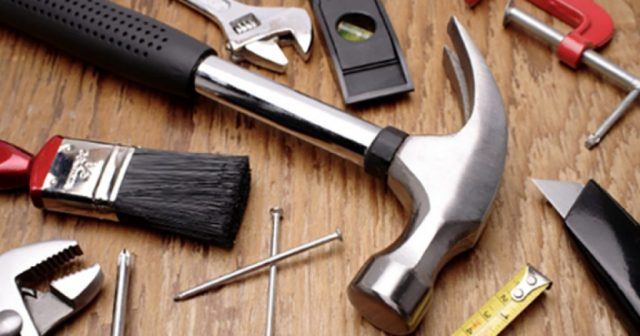 image of tools and how maintaining your house will increase the property value