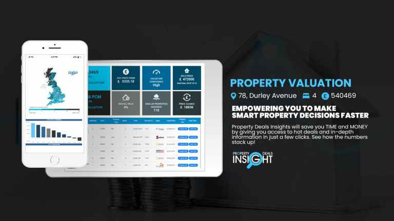 Property Valuation Reports - Instantly evaluate any property throughout UK